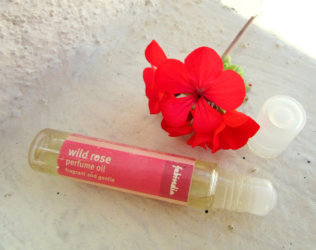 February 2016 Beauty Favorites Fabindia wild rose perfume oil