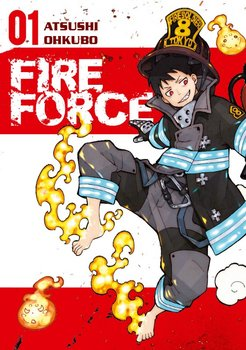 Fire Force Manga Cover