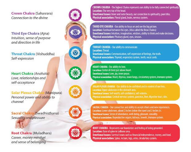 7 chakra manusia