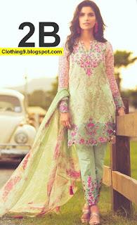 Shariq Mina Hasan Lawn Eid Collection 2016-2017