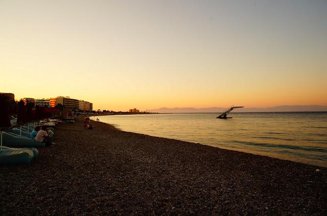 Пляж Элли в Родосе