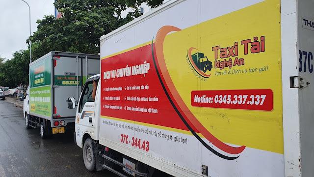 Xe tải chở hàng Thành Vinh