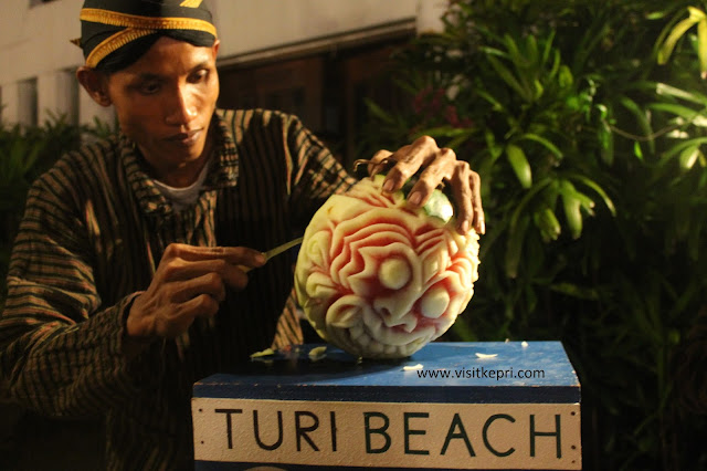 Visit Kepri Fruit Carving Wonderful Indonesia Cook Book by Turi Beach