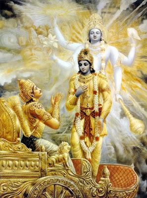 Bhagavad-gítá - A Magasztos szózata - Krishna és Arjuna