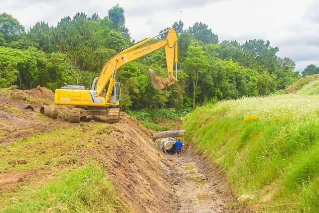 Obra do Parque Linear do Palmital entra em nova fase de construção