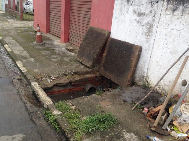 Prefeitura de Registro-SP intensifica limpeza de Bueiros
