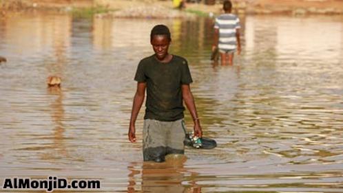 فيضانات السودان, سد النهضه, كوارث طبيعية, فيضان, غرق المواطنين, العديد من السكان بلا مؤى, السودان, تلف آلاف البيوت السودانية