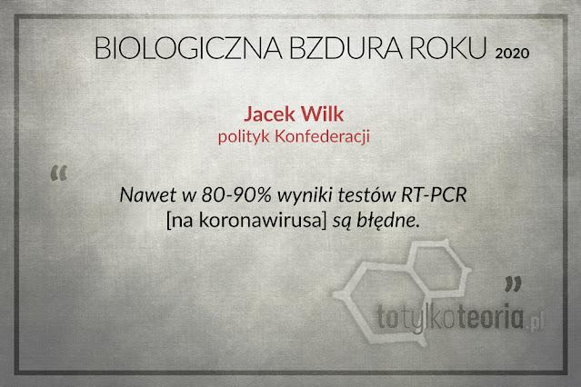 Jacek Wilk Biologiczna Bzdura Roku