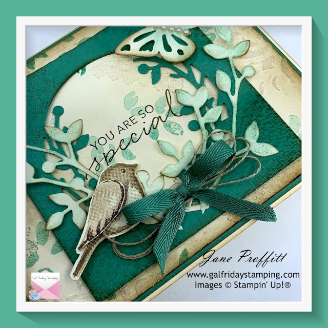 Birds & Branches stamp set from Stampin' Up!