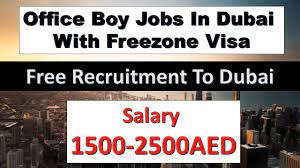 Office Boy Job Recruitment in Dubai 2021 For For Cleaning and Maintaining office