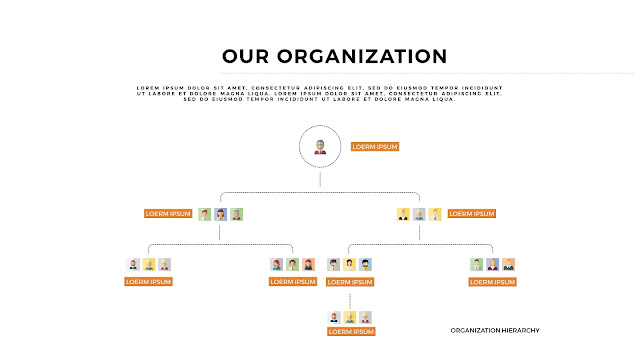 Free Organization Charts Free PowerPoint Template with 4K Slide Resolution Type E