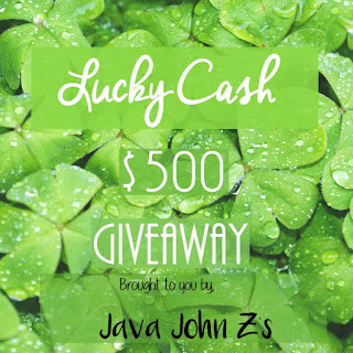 Enter the Lucky Cash Giveaway. Ends 3/17
