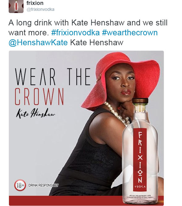 Kate Henshaw blasts Vodka company for using her images without permission