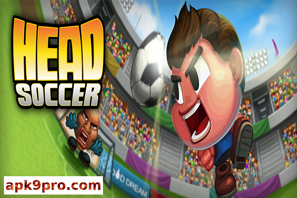 Head Soccer v6.7.0 Apk + Mod (File size 91 MB) + Data for android