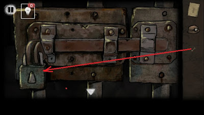 ключом открываем дверь в игре выход из заброшенной шахты
