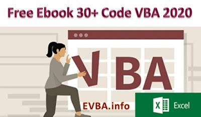 NEW FULL CODE VBA 2020 FREE PDF