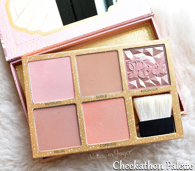 Benefit Cheekathon Blush & Bronzer Palette Limited Edition Review
