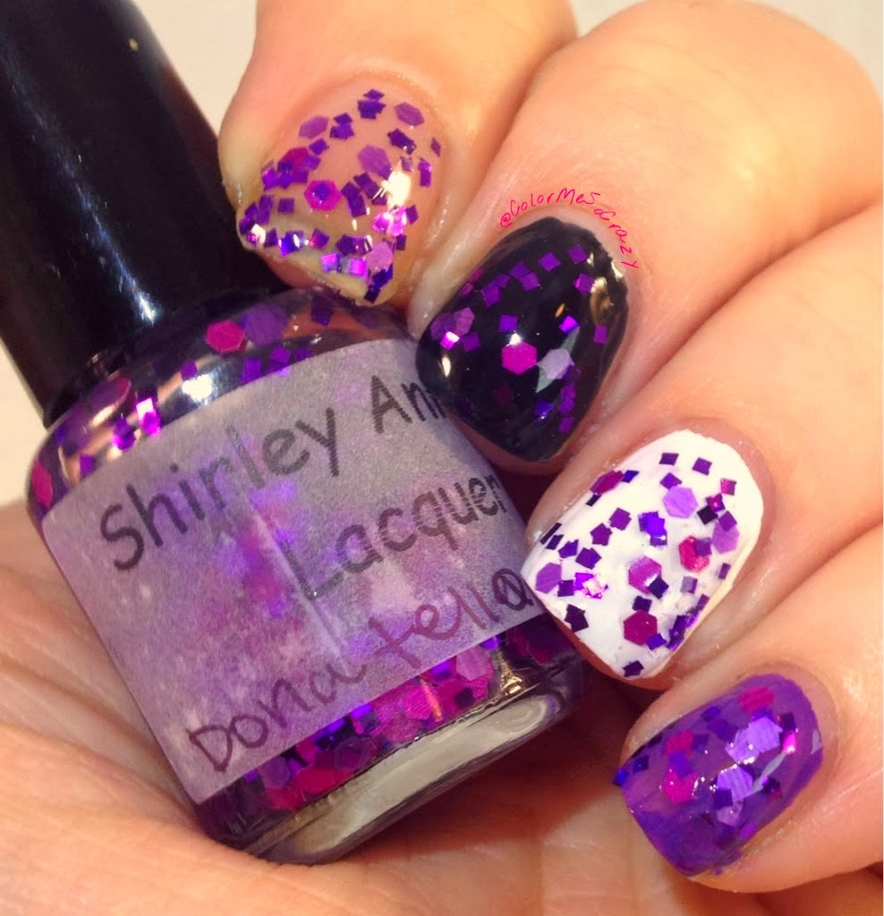 Shirley Ann Nail Lacquer Teenage Mutant Ninja Turtles Collection Donatello
