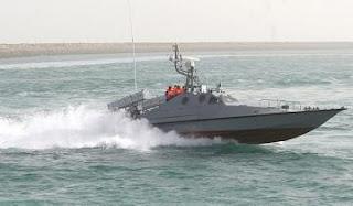 مصدر ايراني : ايقاف زورق سعودي انتهك المياه الايرانية و اعتقال 4 سعوديين على متنه