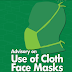 NCDC issues advisory on use of cloth face mask
