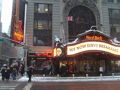 Hard Rock Cafe sur Times Square
