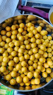 Boilies de vainilla y naranja