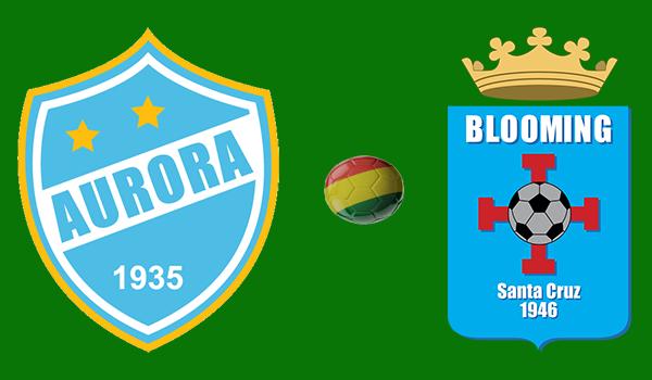 Aurora vs. Blooming - En vivo - Torneo Apertura 2018