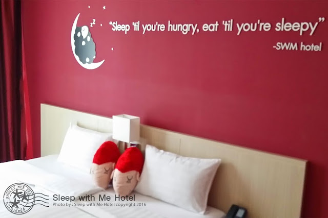 Sleep With Me Hotel at Patong Beach, Phuket, Thailand.