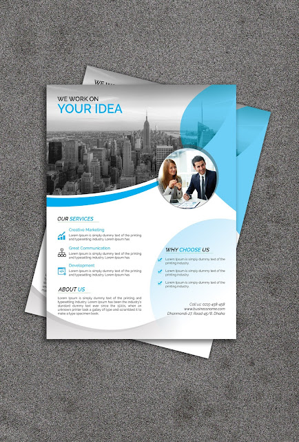 Creative And Professional Corporate Flyer Design  Logoservize