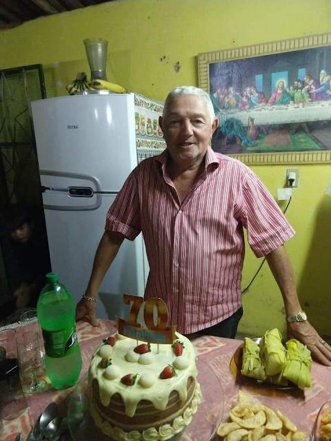 Pai da prefeita de Juru - PB morre vítima do novo Corona vírus