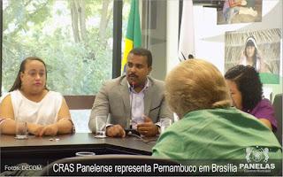coordenador do CRAS Edvaldo Alves, participou do evento organizado pelo Conselho Nacional de Assistência Social (CNAS)
