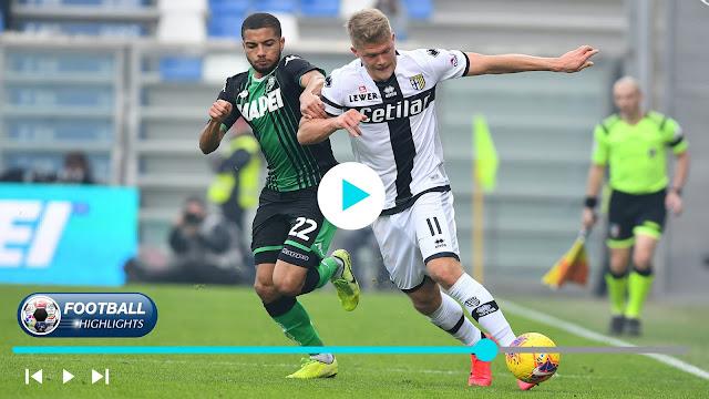 Sassuolo vs Parma – Highlights