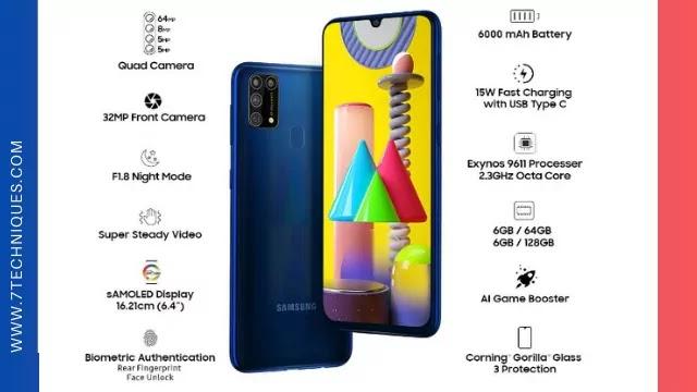 Samsung Galaxy M31 Under 20000