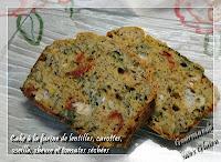 http://gourmandesansgluten.blogspot.fr/2014/04/cake-la-farine-de-lentilles-carottes.html