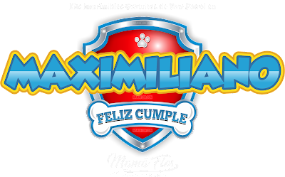 Logo de Paw Patrol: MAXIMILIANO