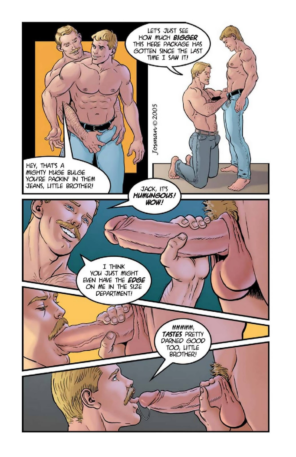 Gm Comics My Wild  Raunchy Son - Chaptert 01, 02 And 03-1339