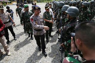 Jaga NKRI, Pasukan Gabungan TNI-Polri Diterjunkan Kejar Kelompok Bersenjata di Tembagapura