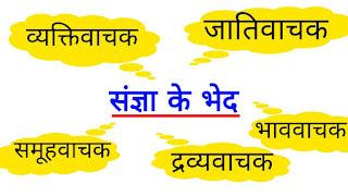 Noun In Hindi | Definition | Type/संज्ञा के पांच भेद/प्रकार होते हैं