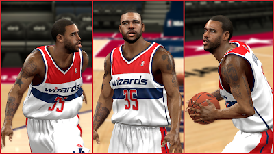 NBA 2K14 Trevor Booker Face Mod
