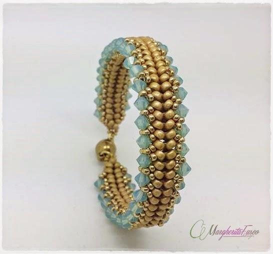 Estremamente 75marghe75 Bead By Bead: Nuovi schemi di bracciali con perline e  QX57