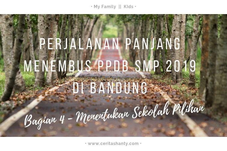 perjalanan menembus ppdb smp 2019 bandung