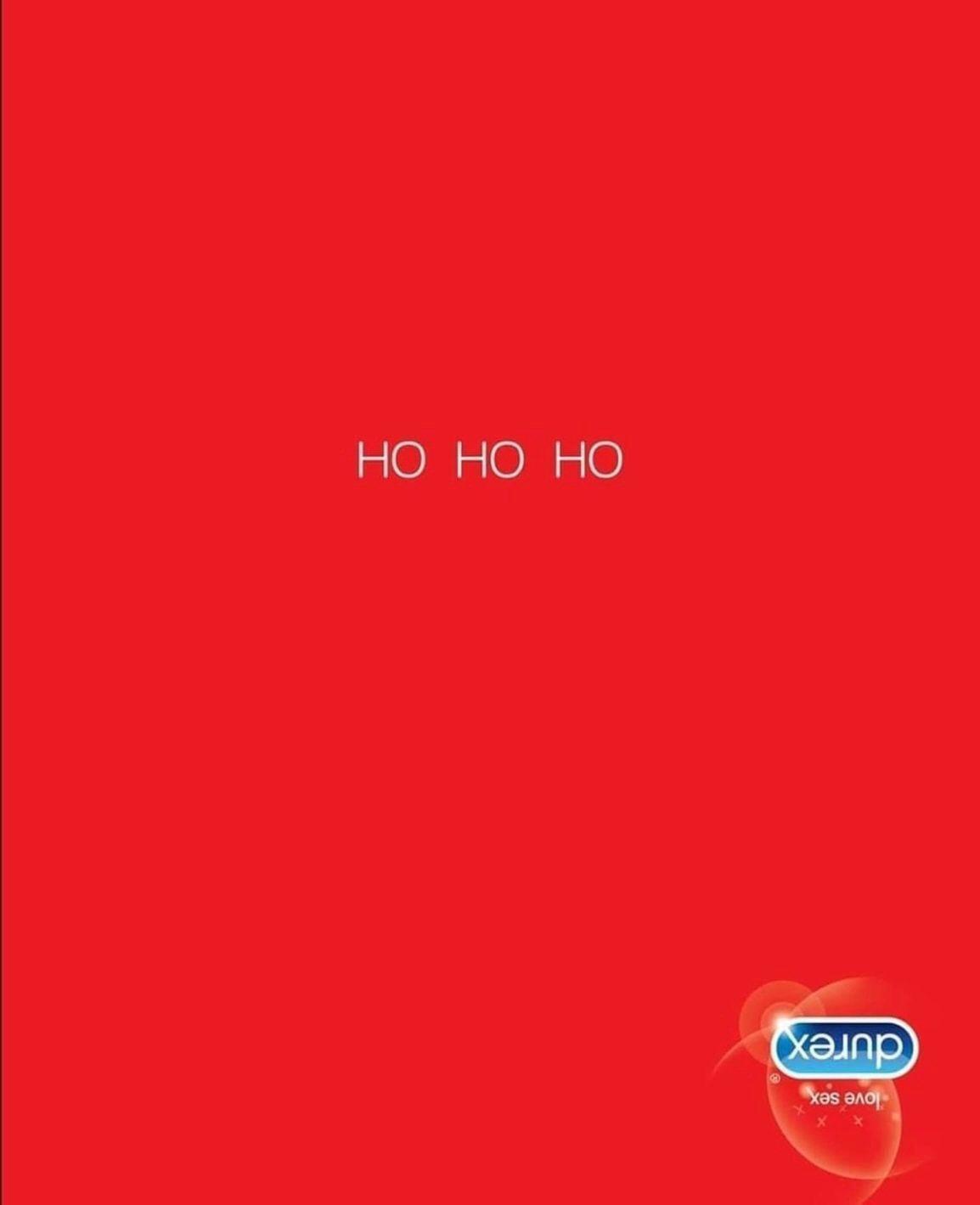 Durex: Ho Ho Ho inverted