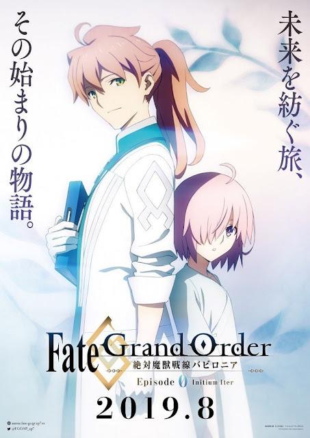 """episodio 0 de """"Fate/Grand Order: Zettai Majū Sensen Babylonia""""."""