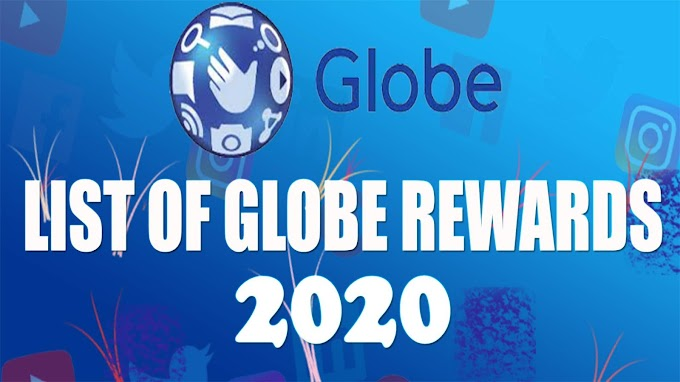 List of Globe Rewards │ You can Redeem using your Globe points 2020
