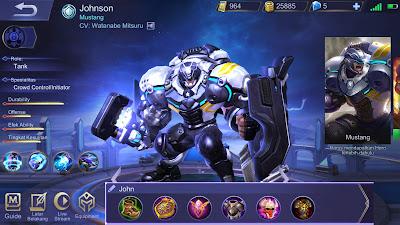 Musuh Pasti Rata, Build Johnson Mobile Legends Terkuat!