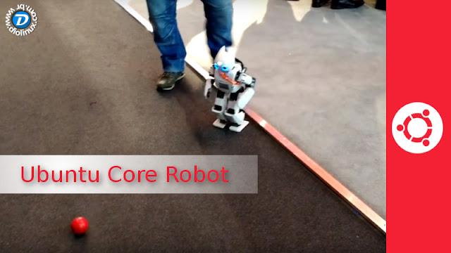 Ubuntu Core Robot
