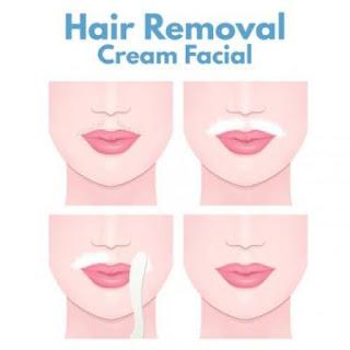 easily remove facial hair at home in urdu