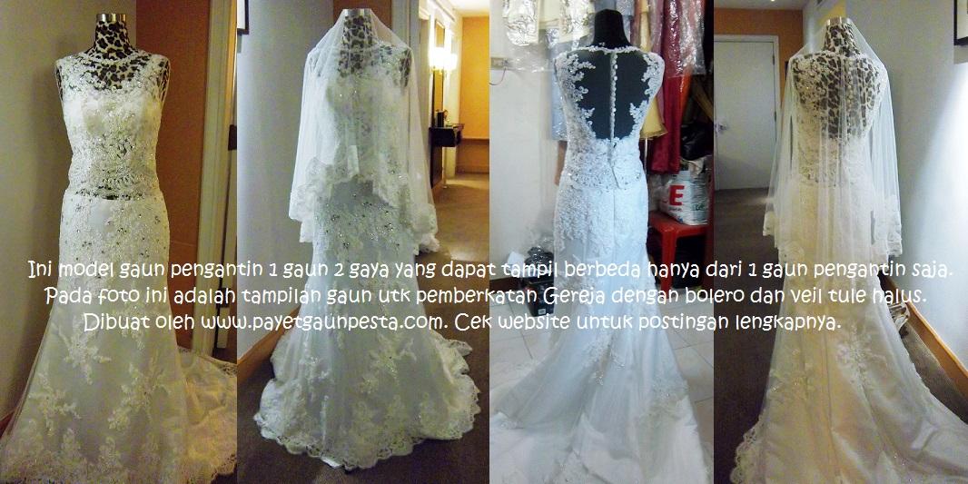 model+gaun+pengantin+brokat+tule+untuk+pemberkatan+dengan+bolero