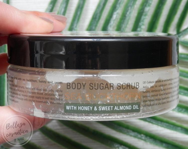 Bio2you exfoliante azúcar Spa Sea Buckthorn