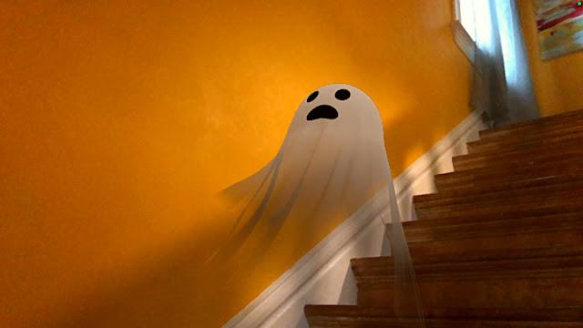 Google, Cadılar Bayramı'nı artırılmış gerçeklik kullanarak hayata geçiriyor